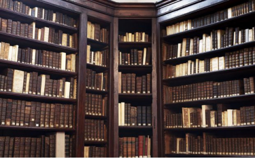 Old Library visit 12 December 7pm