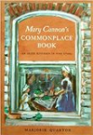 Mary's Cannon's Commonplace Book