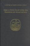 Music at Christ Church before 1800 : Documents and Selected Anthems