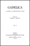 Gadelica: A Journal of Modern Irish Studies